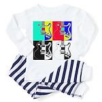 Pop Art Toddler Pajamas