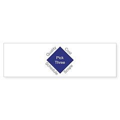QCSS Bumper Sticker (10 pk)