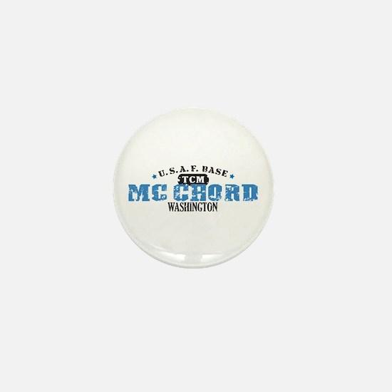 McChord Air Force Base Mini Button