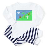 Flag Toddler Pajamas