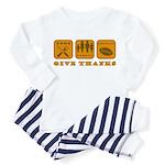 Give Thanks Toddler Pajamas