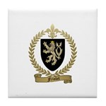 FRIOLET Family Crest Tile Coaster