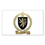 FRIOLET Family Crest Rectangle Sticker 50 pk)