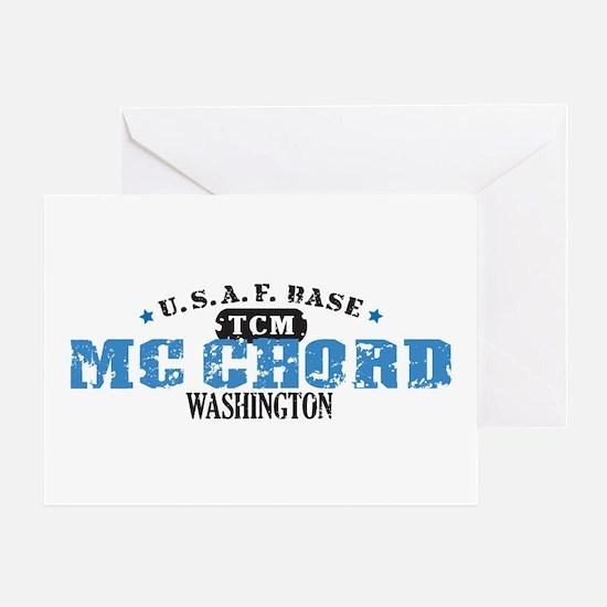 McChord Air Force Base Greeting Card