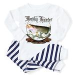 Musky Hunter Toddler Pajamas