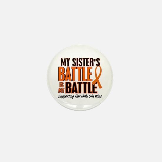 My Battle Too (Sister) Orange Mini Button