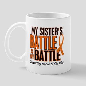 My Battle Too (Sister) Orange Mug