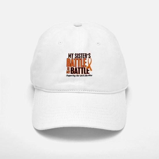 My Battle Too (Sister) Orange Baseball Baseball Cap