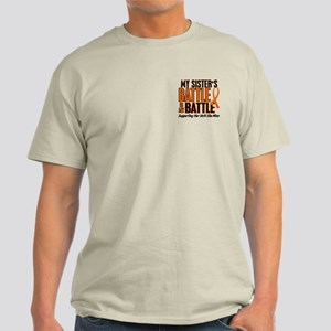 My Battle Too (Sister) Orange Light T-Shirt