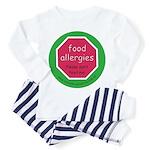 food allergies don't feed Toddler Pajamas