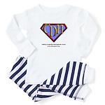 CDH Superhero Logo for Boys Toddler Pajamas