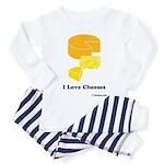 I Love Cheeses Toddler Pajamas