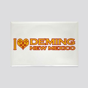 I Love Deming, NM Rectangle Magnet