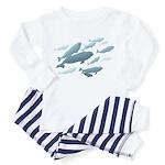 Beluga Whales Baby Pajamas Toddler Whale Pajamas