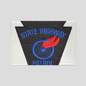 Pennsylvania Highway Patrol Rectangle Magnet