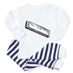 Harmonica/Blues Harp Toddler Pajamas
