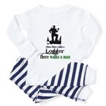 Where There Walks a Logger Toddler Pajamas