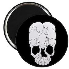 Cats Skull Magnet