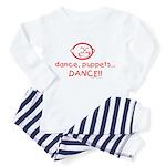 dance puppets dance Toddler Pajamas