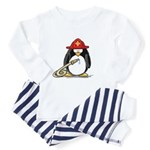 Fireman penguin Toddler Pajamas