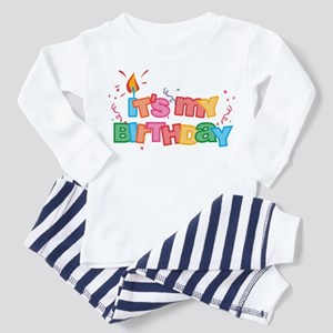It's My Birthday Letters Toddler Pajamas