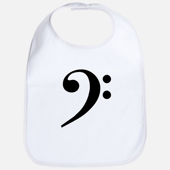 Trad Basic Black Bass Clef Bib