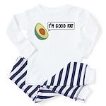 Avocado: Good Fat Toddler Pajamas