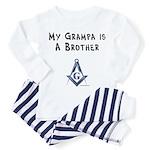 Grampa is a Brother Toddler Pajamas