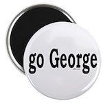 "go George 2.25"" Magnet (100 pack)"