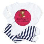 Nuts and sesame-allergy alert Toddler T-Shi