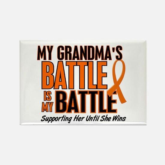 My Battle Too (Grandma) Rectangle Magnet