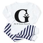 Masonic 'He'll Grow Into It' Toddler T-Shi