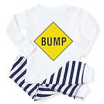 Yellow Bump Sign - Toddler Pajamas