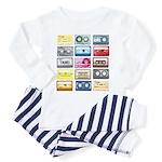 Designer Mixtape Toddler Pajamas
