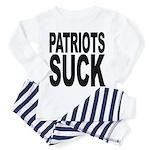 patriotssuckbk Toddler Pajamas