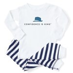 Confidence Is King Toddler Pajamas