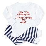 adorable like my aunt Toddler Pajamas