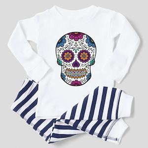 1a87c95de8 Sugar Skulls Toddler Pajamas - CafePress