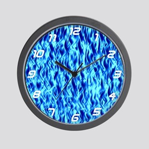 BM: Blue Flame Wall Clock