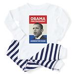 Obama JFK '60-Style Toddler Pajamas
