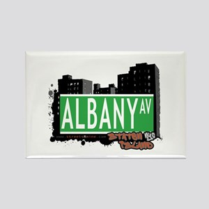 ALBANY AVENUE, STATEN ISLAND, NYC Rectangle Magnet