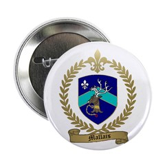 "MALLAIS Family Crest 2.25"" Button (10 pack)"