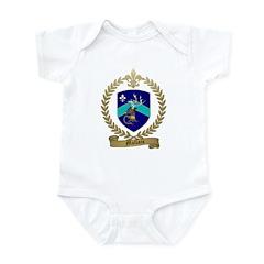 MALLAIS Family Crest Infant Bodysuit