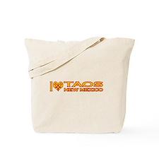 I Love Taos, NM Tote Bag