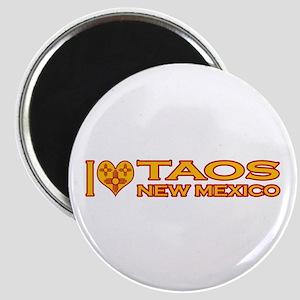 I Love Taos, NM Magnet