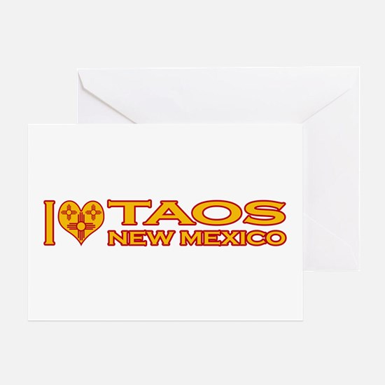 I Love Taos, NM Greeting Card