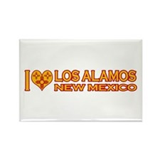 I Love Los Alamos, NM Rectangle Magnet