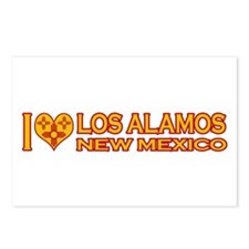 I Love Los Alamos, NM Postcards (Package of 8)