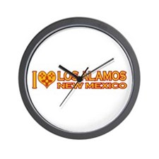 I Love Los Alamos, NM Wall Clock