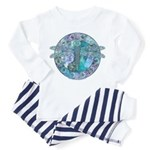Cool Celtic Dragonfly Toddler Pajamas